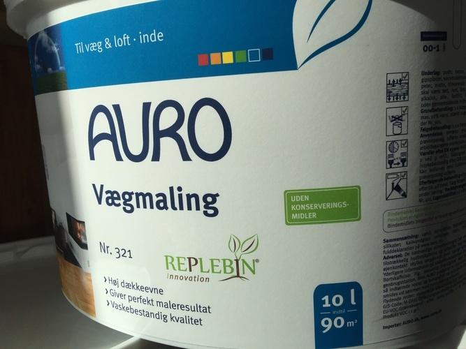 AURO vægmaling uden MI eller andre konserveringsmidler